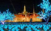 """""""แสงแห่งพระมหากรุณาธิคุณปกหล้า"""" การแสดงแสง สี เสียงสุดอลังการ เนื่องในงานพระราชพิธีบรมราชาภิเษก"""