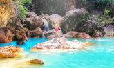 น้ำตกดีโดก น้ำตกสีฟ้าราวกับสระมรกต ความมหัศจรรย์แห่งมัณฑะเลย์