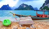 ควนคางคก เกาะสวรรค์กลางเขื่อนเชี่ยวหลาน