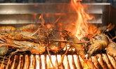 บุฟเฟต์กุ้งเผา Pullman Bangkok Grande Sukhumvit กินกุ้งเป็นภูเขาจ่ายเหมาไม่ถึงพัน!