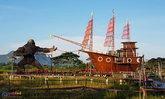 คิงคองยักษ์ สำเภาไทย แหล่งท่องเที่ยวสุดฮิตเมืองลุง