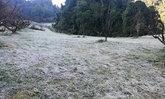 ดอยอ่างขางหนาวสุดขั้ว แม่คะนิ้งปกคลุมราวกับหิมะตก