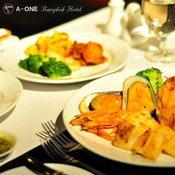 international steak & bbq buffet dinner