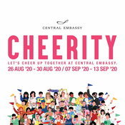 """CHEERITY: Let's Cheer up together"" ครบเครื่องเรื่องงานแฟร์ที่เซ็นทรัล เอ็มบาสซี"