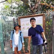 ครอบครัวคุณ Mean Thichy สวนสัตว์เขาดิน จ.กรุงเทพมหานคร