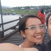 ครอบครัวคุณ Nattaya pudding  สะพานมอญ อ.สังขละบุรี จ.กาญจนบุรี