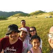 ครอบครัวคุณ Nuchanart Kitinan ภูเขาหญ้า จังหวัดระนอง
