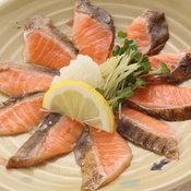 Toro Salmon Tataki