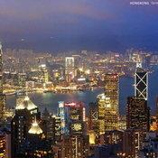 13. Victoria peak ประเทศฮ่องกง