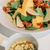 Apple and Cheddar Salad