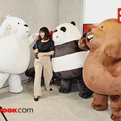 เมื่อ 3 หมีจอมทะเล้น We Bare Bears มาป่วนชาว Sanook ถึง Tencent Thailand