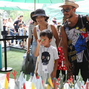 """ประมวลภาพ """"มิคกี้ เมาส์ - มินนี่ เมาส์"""" โผล่สร้างสีสันวันเด็กแห่งชาติ 2563"""