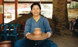 เที่ยวชุมชนบ่อสวก Handcraft สร้างแรงบันดาลใจ