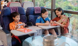อร่อยล้นฟ้า ไม่บินก็ฟินได้ ห้องอาหารเสมือนบินจาก ครัวการบินไทย