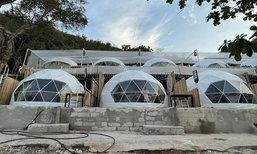 Sangwan Beach Villa เต็นท์โดมริมทะเล เปิดใหม่บนเกาะล้าน