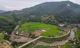 หมู่บ้านสะปันในหน้าฝน สวรรค์สีเขียวในม่านหมอกเมืองน่าน