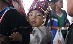 อิ่มใจกับรอยยิ้มของเด็ก ๆ กับ งานชาคืนต้น ครั้งที่ 2 ณ โรงเรียนพญาไพรไตรมิตร จ.เชียงราย