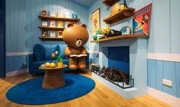 LINE VILLAGE BANGKOK อาณาจักรของคนรักหมีบราวน์และผองเพื่อน