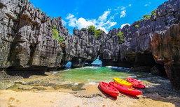 ปราสาทหินพันยอด ที่เที่ยวอันซีนหนึ่งเดียวในไทย ขุมทรัพย์กลางทะเลสตูล