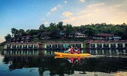 5 ที่พักริมน้ำกาญจนบุรี สัมผัสวิถีแห่งหน้าฝน