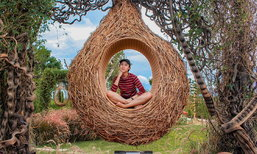 รีวิว U&ME Cafe Kanchanaburi ถ่ายรูปสวยในสวนรังนกบาหลีที่แรกในเมืองไทย