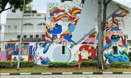 กัมปง เกอลัม ย่านเมืองเก่าเปี่ยมเสน่ห์ของสิงคโปร์