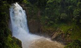 """พาลุยน้ำตกที่สูงและอลังการที่สุดแห่งหนึ่งในอุทยานแห่งชาติเขาใหญ่ """"น้ำตกเหวนรก"""""""