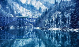 ดูหิมะแบบประหยัด 3 สายรถไฟที่เห็นวิวหิมะสุดสวย