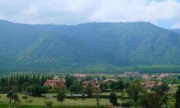 ::: ทิ้งตัวลงนอนในอ้อมกอดของเขาใหญ่ ก่อนจะหลับตาและฝันไปไกลถึงอิตาลี::: Toscana Valley Town Square