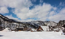 ชิราคาวาโกะ (Shirakawago) หมู่บ้านมรดกโลกกลางหุบเขาแห่งหิมะ