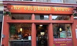 The Elephant House ... จุดกำเนิดของพ่อมดน้อย Harry Potter
