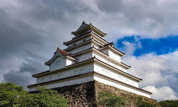 Tsuruga Castle (สึรุกะ) ปราสาทนกกระเรียนขาวอันโด่งดังแห่งเมือง Fukushima