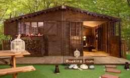 Booking.com เปิดโอกาสให้ผู้เดินทาง ได้พักในบ้านพักที่ทำจากช็อกโกแล็ตทั้งหลัง!