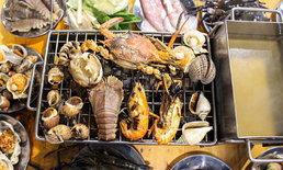 เพื่อนบุฟเฟต์ซีฟู้ด กินได้ทั้งทะเลจ่ายแค่ 555 บาท ทีเด็ดอยู่ที่เจ้าของร้าน!