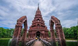 สุดอลังการ! ประติมากรรมวัดห้วยแก้ว ศิลปะผสาน ไทย เขมร พม่า หนึ่งเดียวในไทย