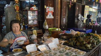 'ตลาดคลองสวน 100 ปี' เสน่ห์วิถีชีวิตเดิมๆ..แห่งฉะเชิงเทรา