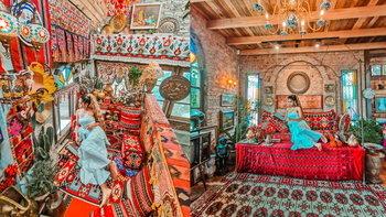 Cafe Amazon เสาสูง บ่อวิน บรรยากาศร้านแบบตุรกี มีมุมถ่ายรูปสวยให้ได้เช็กอิน