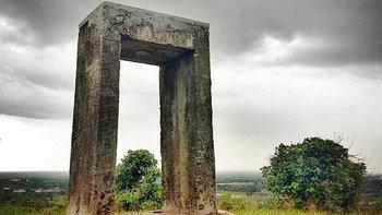 ความสำคัญที่ถูกลืมเลือน 1 ใน 3 หมุดโลกของทวีปเอเชีย บนยอดเขาสะแกกรัง