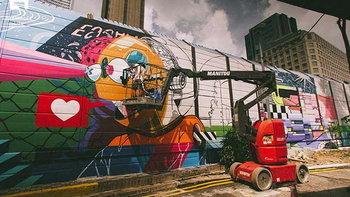 สิงคโปร์ปรับแบริเออร์ไซต์ก่อสร้างเป็น Graffiti Hall of Fame แห่งแรกในเอเชียตะวันออกเฉียงใต้