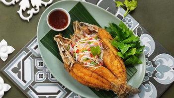"""""""ปลากะพงทอดน้ำปลา-ยำมะม่วง"""" เพียง 238 บาท โปรลดจัดหนักจากไทยเทอเรส 14 วันเท่านั้น"""