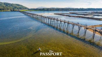 Ong Cop Bridge สะพานไม้ยาวที่สุดของเวียดนาม