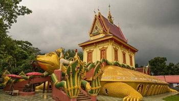 วิหารพญาเต่า วัดบึงตาต้า อันซีนหนึ่งเดียวของเมืองไทย