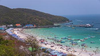 พาไปติดเกาะ @เกาะล้าน กับที่พักราคาเบาๆ ไม่เกิน 2,000 บาท