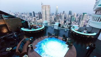 lebua No.3 ค็อกเทลบาร์สูงสุดในโลก ที่สุดแห่งความทันสมัยและหรูหรา
