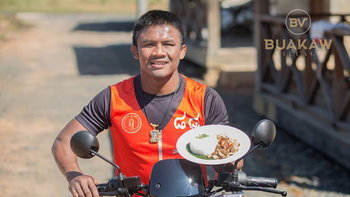 Buakaw Village Canteen & Cafe ร้านอาหารบรรยากาศสุดฟินกระทบไหล่ บัวขาว บัญชาเมฆ