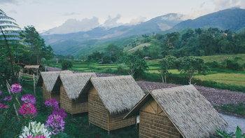 """""""หมู่บ้านสะปัน"""" วิถีชีวิตกลางสายหมอก ที่สร้างความสุขให้แก่ผู้มาเยือนเสมอ"""