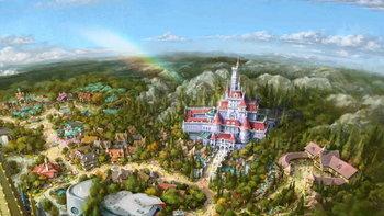 """Beauty and the Beast"" โซนใหม่จาก Tokyo Disneyland ประกาศวันเปิดให้บริการแล้ว!"