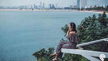 """รีวิว """"Papa Beach Pattaya"""" คาเฟ่เปิดใหม่สไตล์บาหลี ริมหาดพัทยา"""