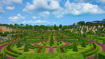 สวนนงนุชพัทยาเปิดให้ 8 จังหวัด และ 5 เขต กรุงเทพมหานคร เข้าชมฟรี 1 เดือนเต็ม