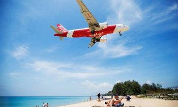 Unseen Thailand!! พาชมเครื่องบิน Landing เหนือชายหาดไม้ขาว จ.ภูเก็ต